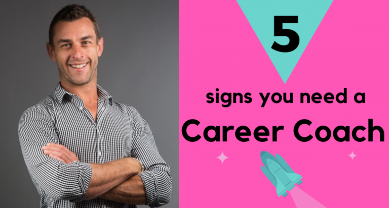 5 Signs You Need A Career Coach